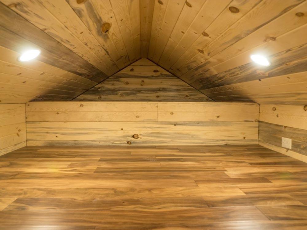 Bedroom Loft - Bunkaboose by EcoCabins