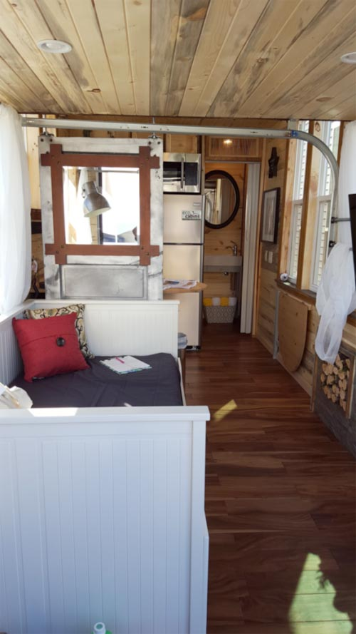 Tiny House Interior - Bunkaboose by EcoCabins