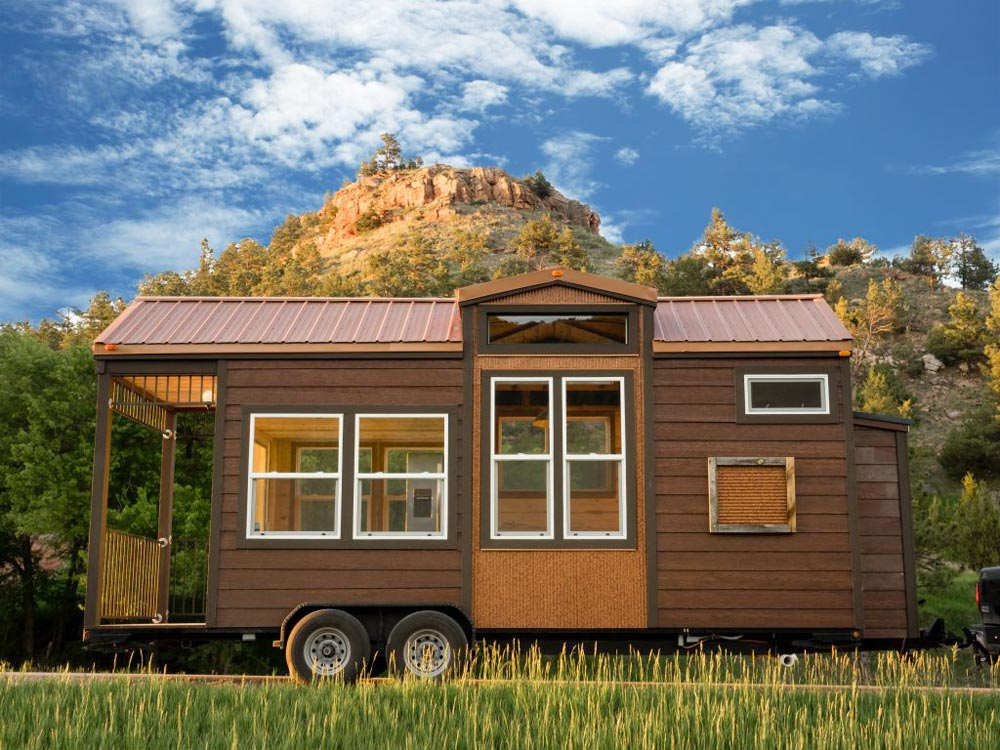 20' Tiny House - Bunkaboose by EcoCabins