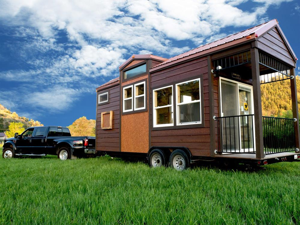 Rustic Tiny House - Bunkaboose by EcoCabins