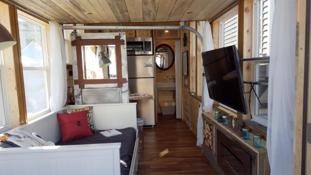 Living Room - Bunkaboose by EcoCabins