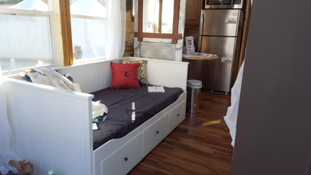 Custom Storage Couch - Bunkaboose by EcoCabins