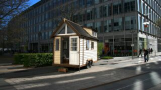 150 sq.ft. House - Tiny House UK by Mark Burton