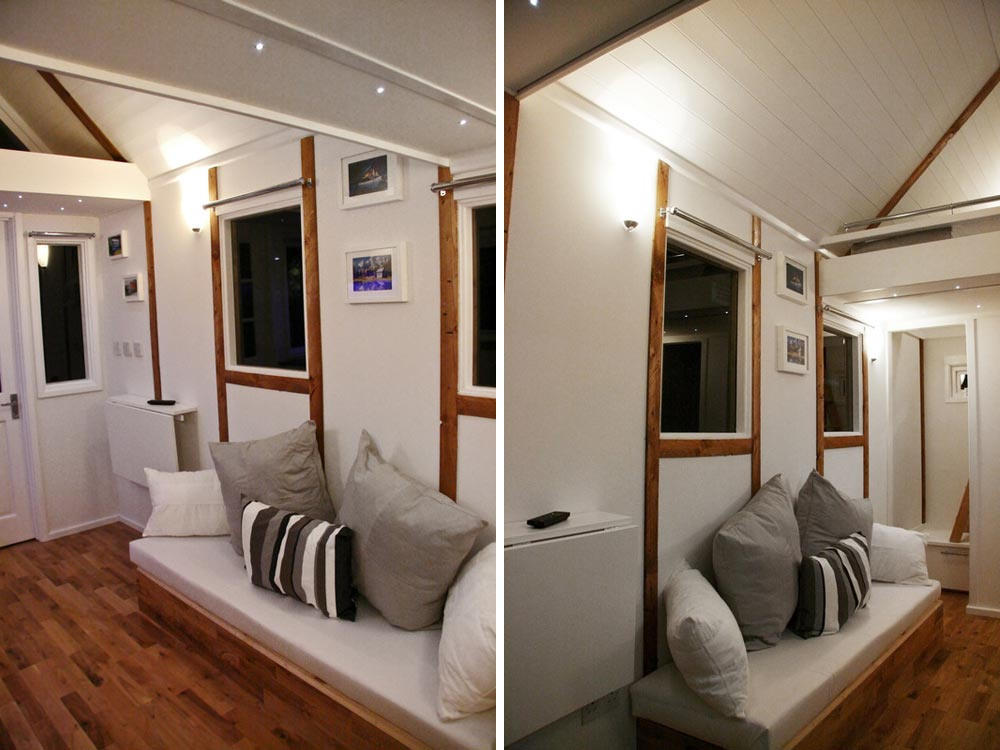 Stoage Couch - Tiny House UK by Mark Burton