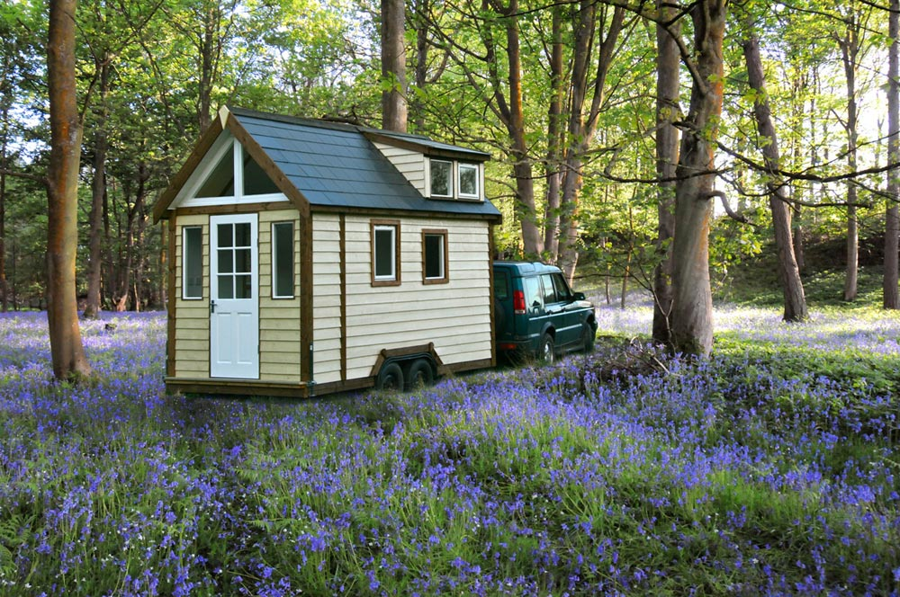 Towing Tiny House - Tiny House UK by Mark Burton