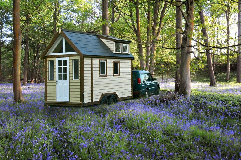 Towing Tiny House - Tiny House UK by Mark Burton