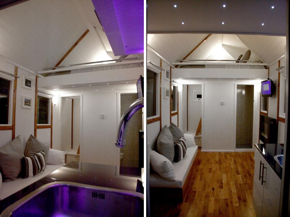 Kitchen & Custom Couch - Tiny House UK by Mark Burton