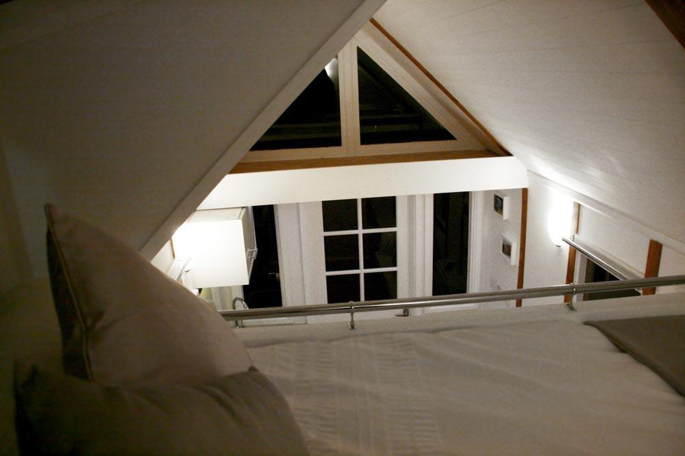 View from loft - Tiny House UK by Mark Burton