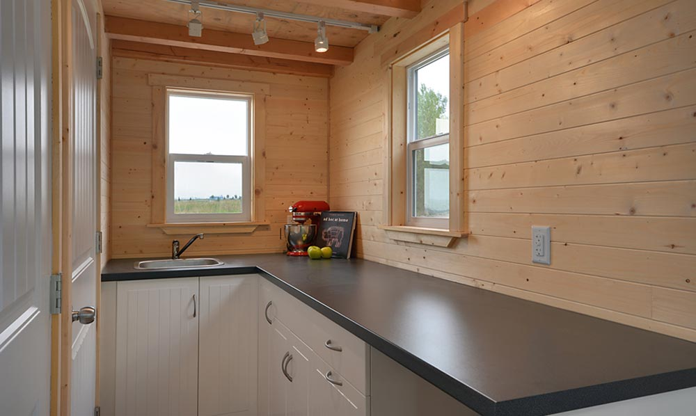 Kitchen - Cabin in the Woods by Mint Tiny Homes