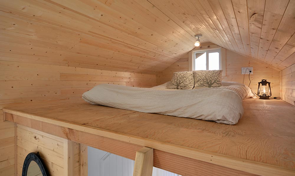 Bedroom Loft - Cabin in the Woods by Mint Tiny Homes