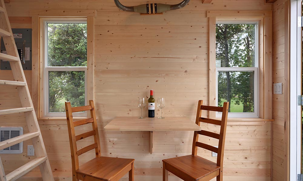 Dining table - Cabin in the Woods by Mint Tiny Homes