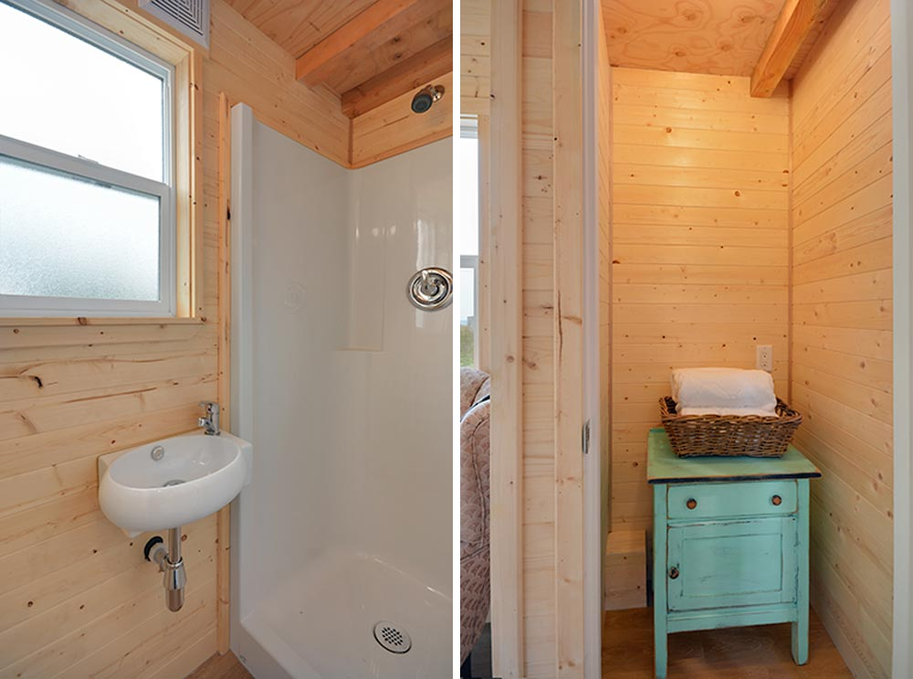 Bathroom - Cabin in the Woods by Mint Tiny Homes