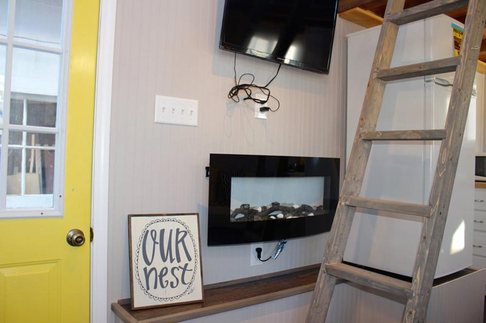 Electric Fireplace - Chic Shack by Mini Mansions