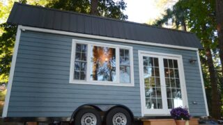 Self Built Tiny House by Liz & Tyler Cragg