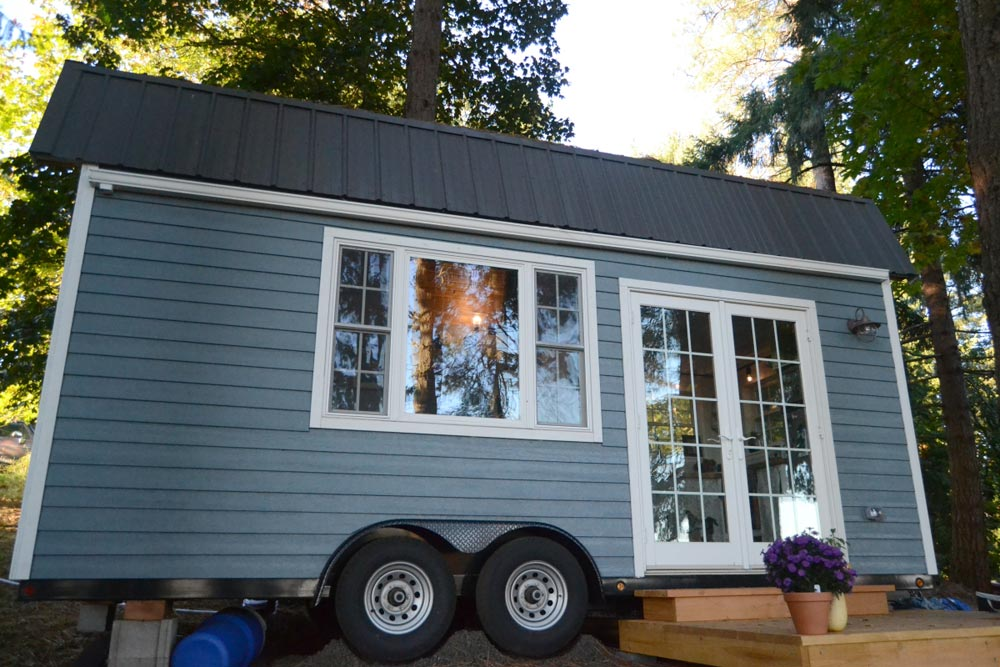 Self Built Tiny House by Liz & Tyler Cragg