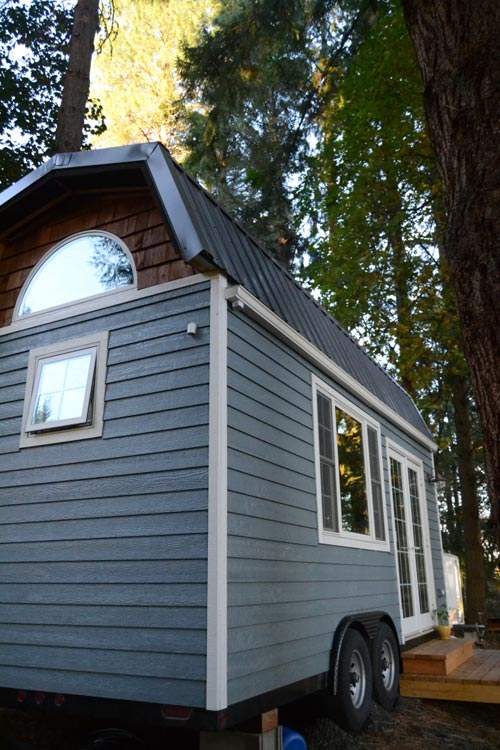 Cottage Style Tiny House by Liz & Tyler Cragg