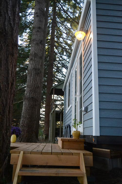 Exterior Lap Siding - Tiny House by Liz & Tyler Cragg