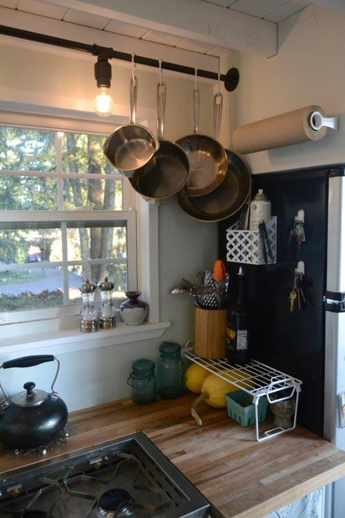 Kitchen Details - Tiny House by Liz & Tyler Cragg
