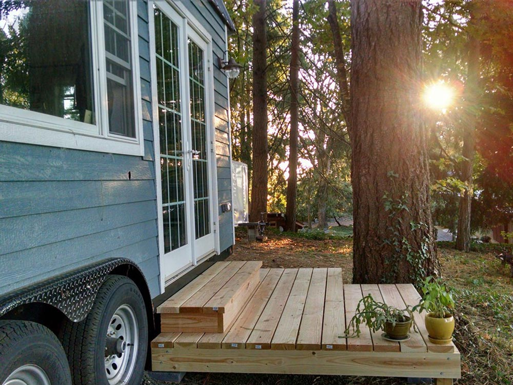 Porch - Tiny House by Liz & Tyler Cragg