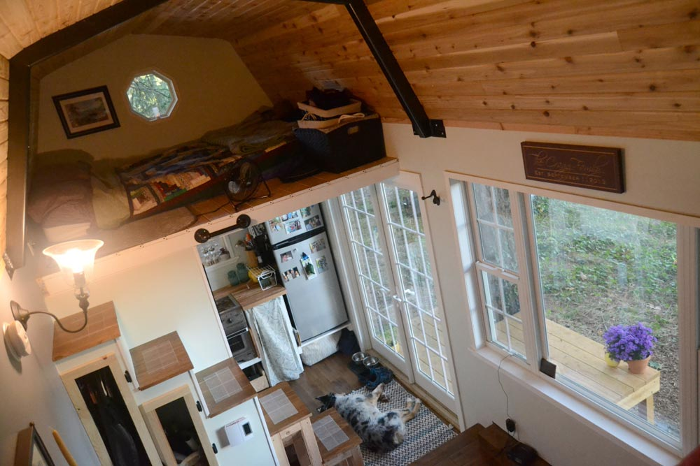 Interior View - Tiny House by Liz & Tyler Cragg