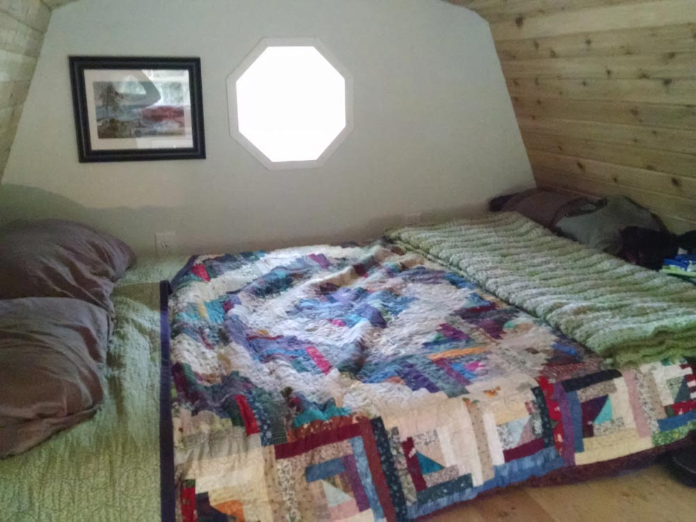 Bedroom Loft - Tiny House by Liz & Tyler Cragg