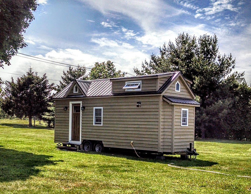 Modern farmhouse by liberation tiny homes tiny living - The modern tiny house ...