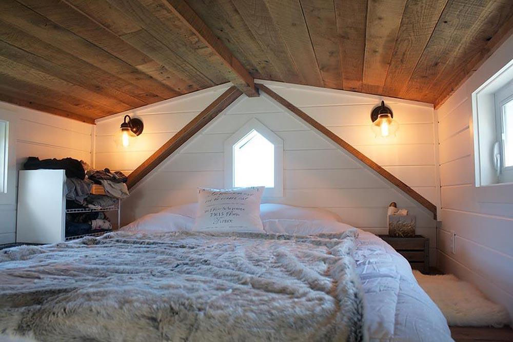 Bedroom Loft - Modern Farmhouse by Liberation Tiny Homes