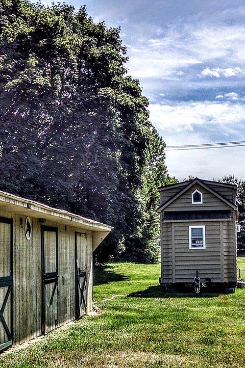 Exterior - Modern Farmhouse by Liberation Tiny Homes