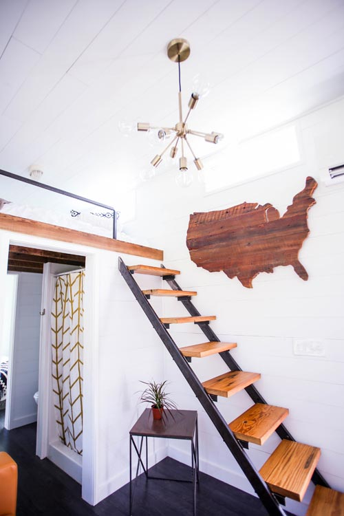 Loft Ladder and Decor - Tiny House Giveaway by Lamon Luther