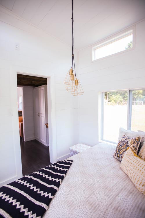 Main Floor Bedroom - Tiny House Giveaway by Lamon Luther