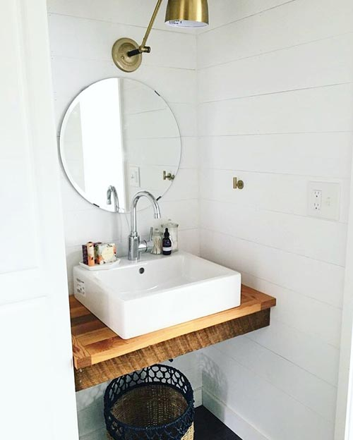 Bathroom Sink - Tiny House Giveaway by Lamon Luther