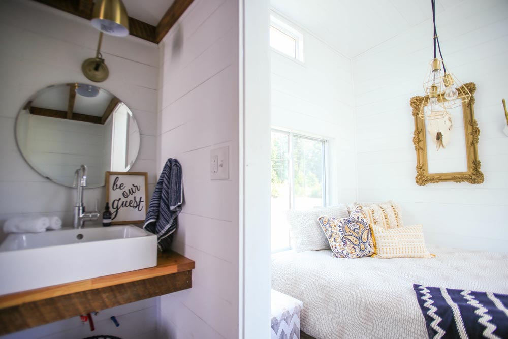 Bathroom and Bedroom - Tiny House Giveaway by Lamon Luther