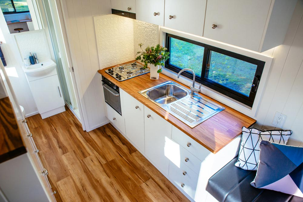 Kitchen w/ Upper Cabinets - Graduate Series by Designer Eco Homes