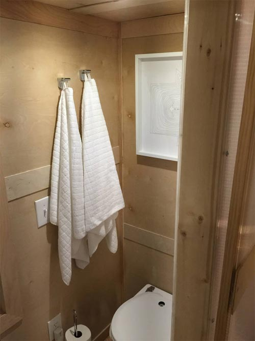 Bathroom - Modern Tiny House in Gretna, NE