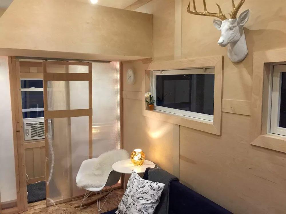 Living Room - Modern Tiny House in Gretna, NE