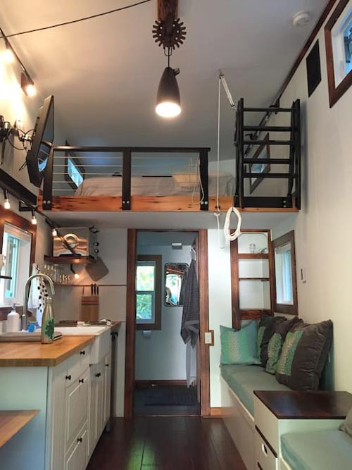 Tiny House Interior - Makers Tiny House on Guemes Island