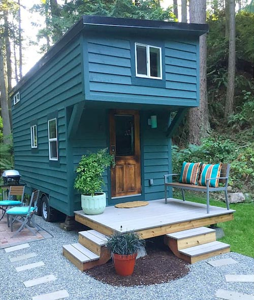 Makers Tiny House on Guemes Island, Washington State
