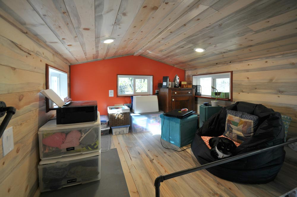 Office/Crafts Loft - Harmony Haven by Rocky Mountain Tiny Houses