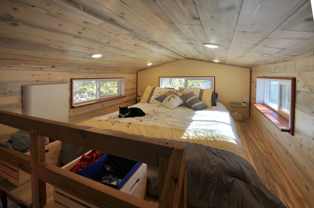 Bedroom Loft - Harmony Haven by Rocky Mountain Tiny Houses