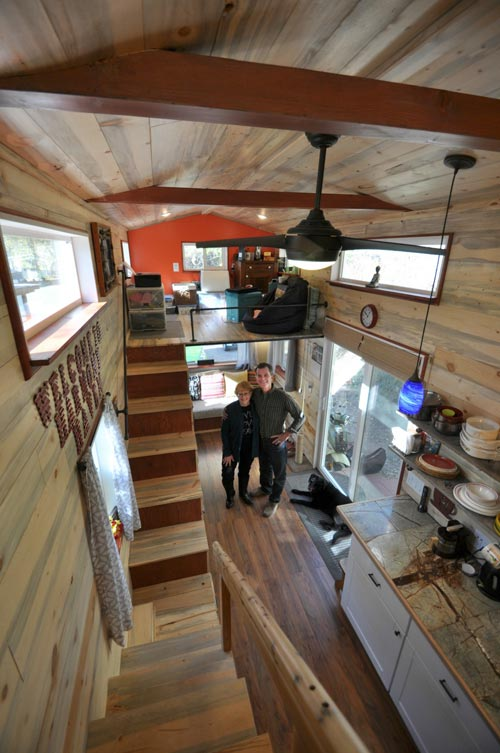 Aerial View - Harmony Haven by Rocky Mountain Tiny Houses