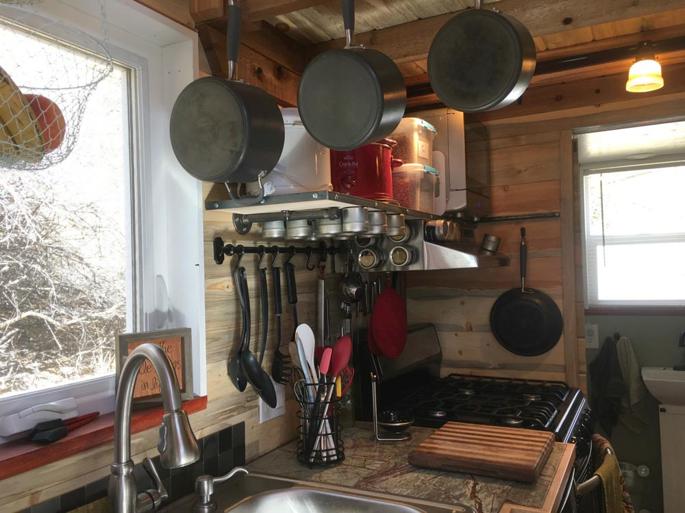 Hanging Storage - Harmony Haven by Rocky Mountain Tiny Houses