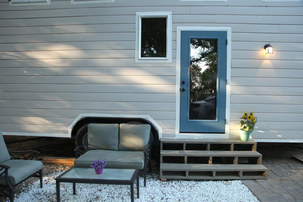 Traditional Ship Lap Siding - Industrial Chic by Dream Big Dwell Small