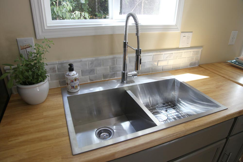 "30"" Stainless Steel Sink - Industrial Chic by Dream Big Dwell Small"