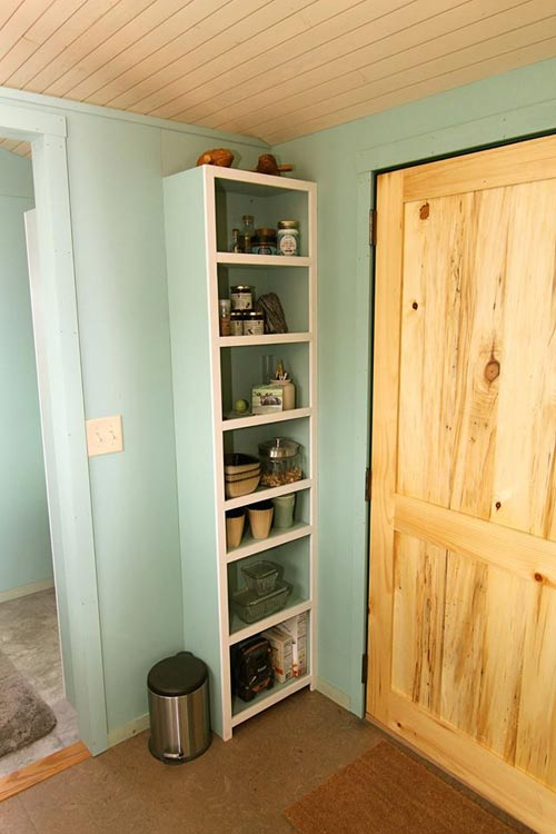 Storage Shelves - 5th Wheel Tiny House by Ken Leigh