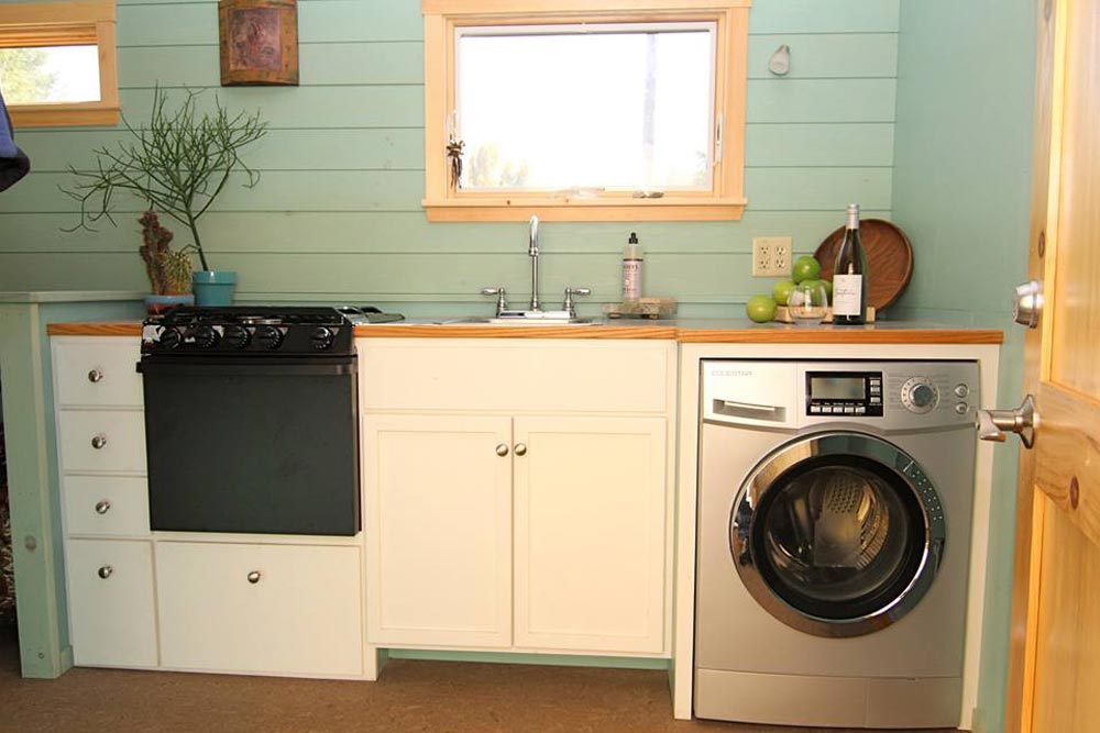 tiny house washer dryer. Kitchen W/ Washer/Dryer - 5th Wheel Tiny House By Ken Leigh Washer Dryer I