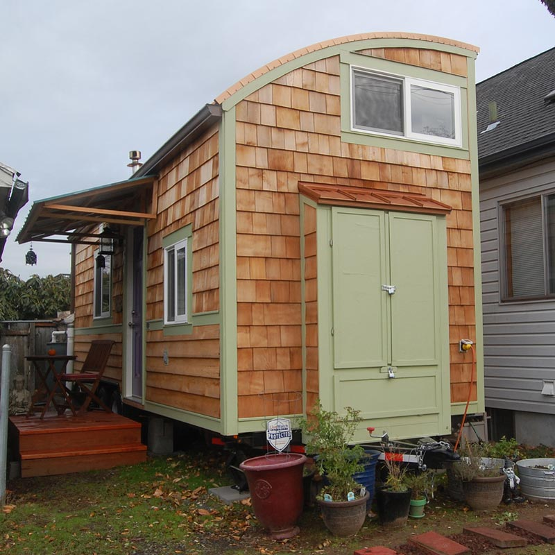 Lilypad Tiny House - Tiny Living