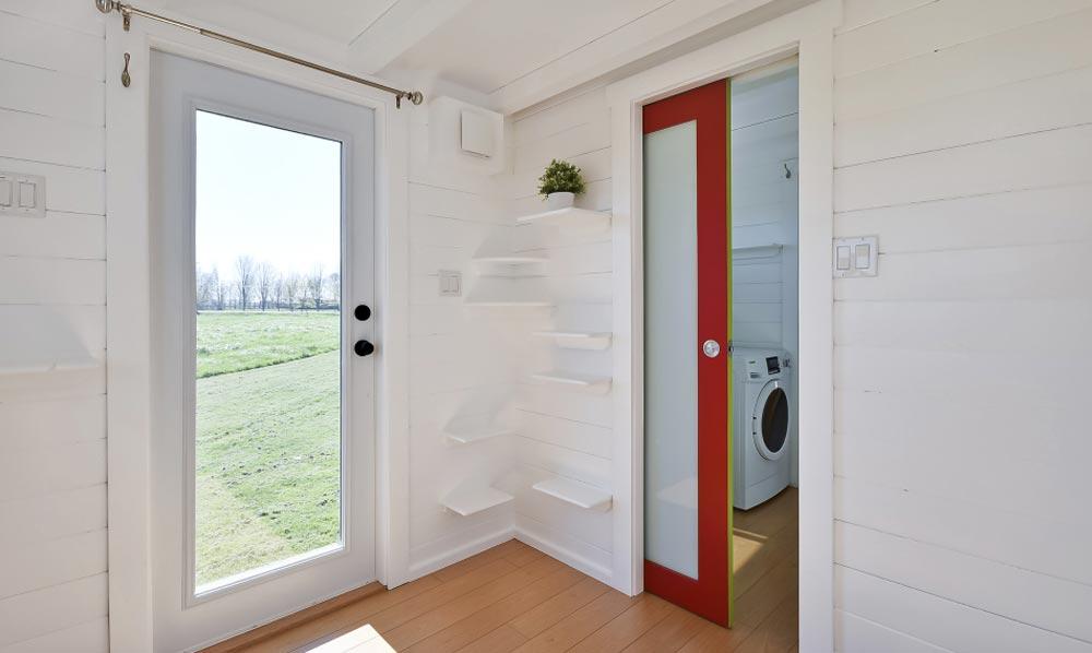 Bathroom Door - Custom Tiny by Mint Tiny Homes