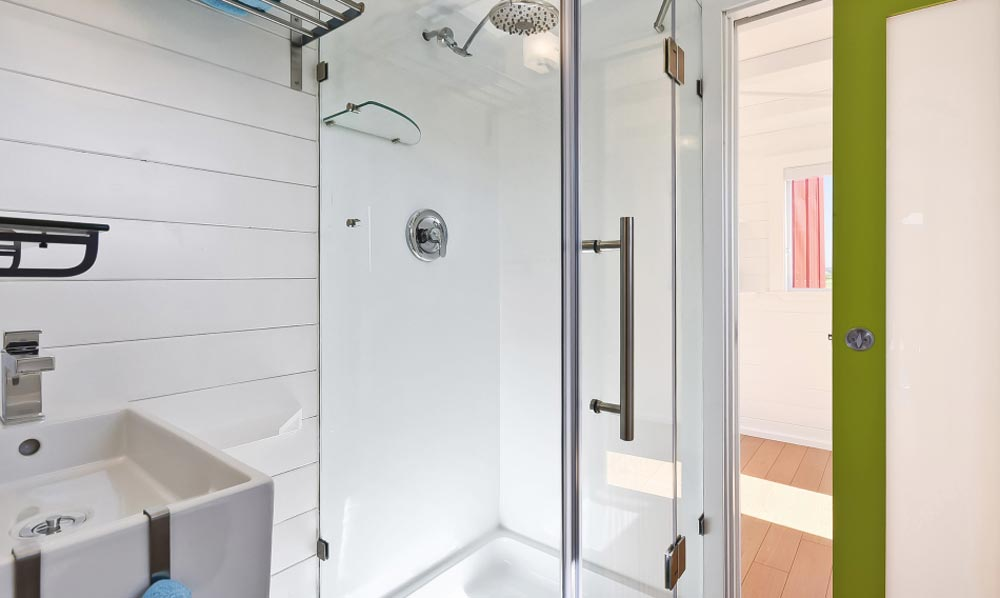 Shower - Custom Tiny by Mint Tiny Homes
