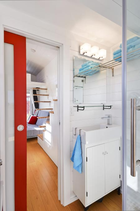 Bathroom - Custom Tiny by Mint Tiny Homes