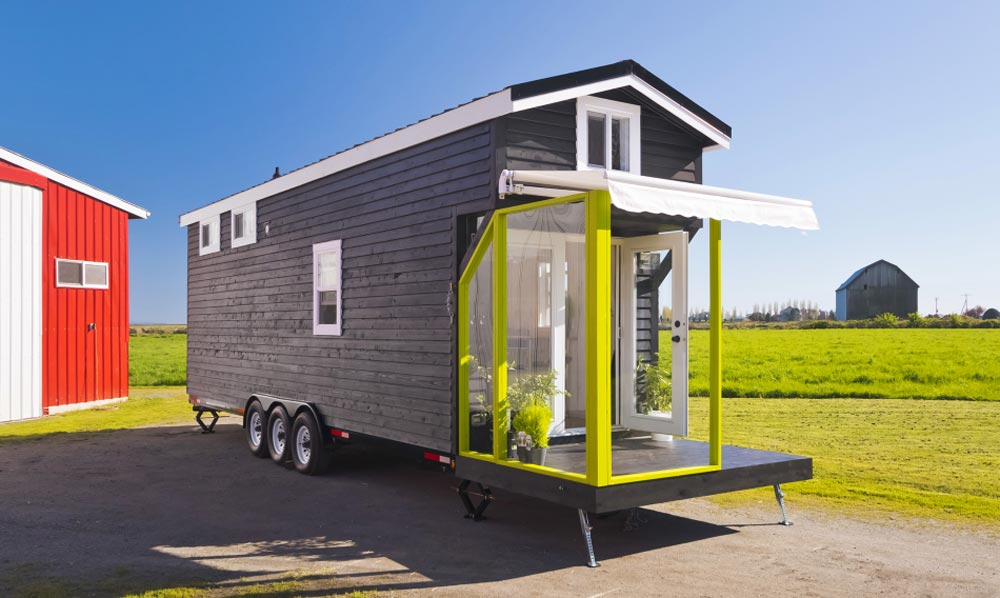 310 sq.ft. Tiny House - Custom Tiny by Mint Tiny Homes